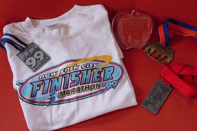 NYCマラソン完走メダル