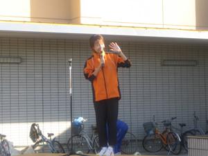 開会式のチバちゃん