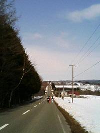 由仁の坂道