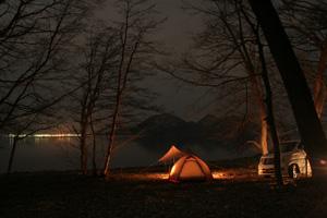洞爺湖の夜