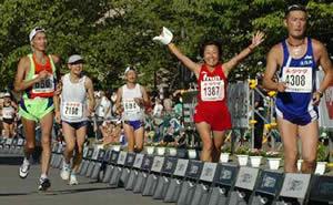 2006北海道マラソンゴール写真