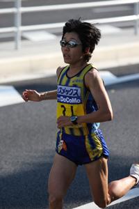 野口みずき(2007東京国際女子マラソン)
